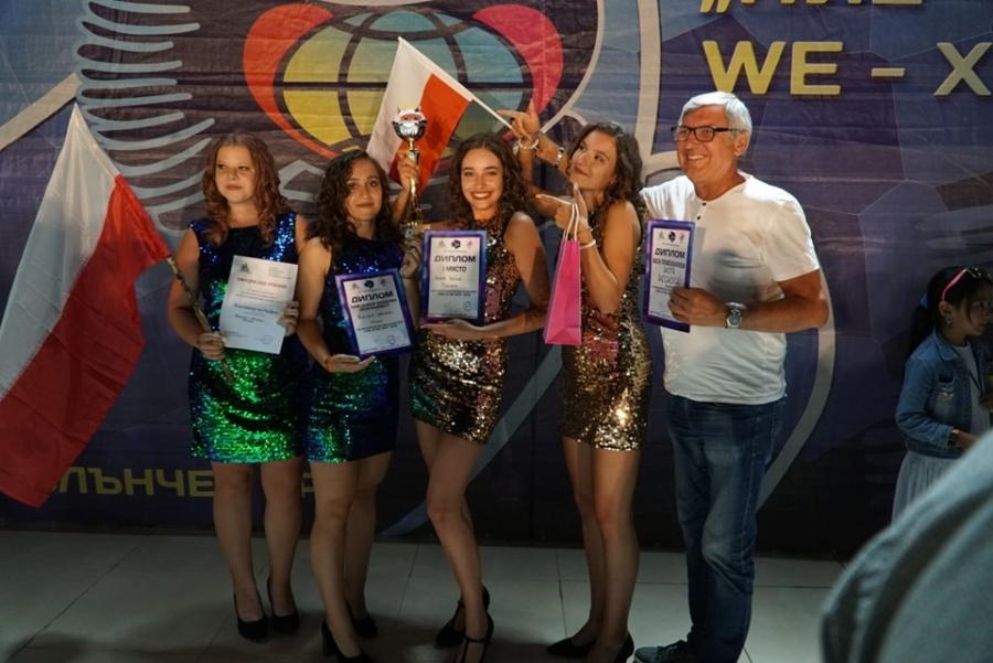 Zespół Quiet Voices z pierwszym miejscem na festiwalu piosenki w Bułgarii
