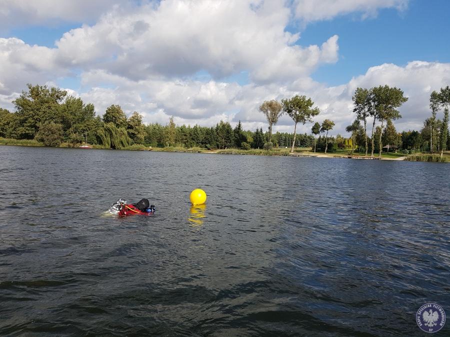 Z Jeziora Mikorzyńskiego wyłowiono ciało