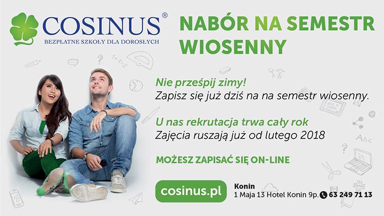 Cosinus Nabór Wiosenny Trwa Wiadomości Lokalne Konin